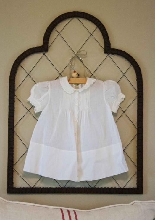 d46a30845 White Vintage Baby Dresses - Cedar Hill Farmhouse