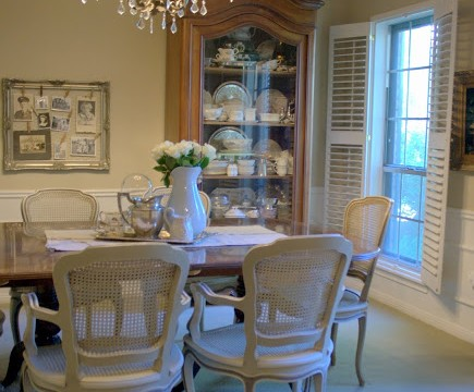 French Facelift for my Dining Room