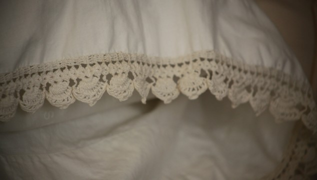 Vintage Bedding Details