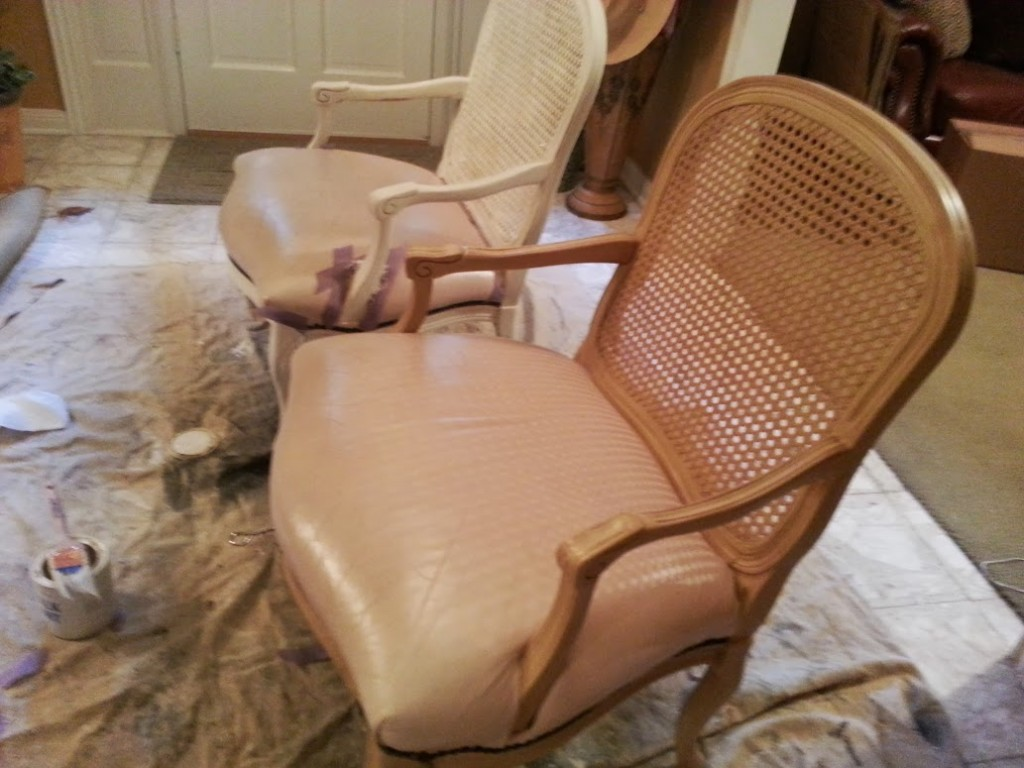 French chairs before photo