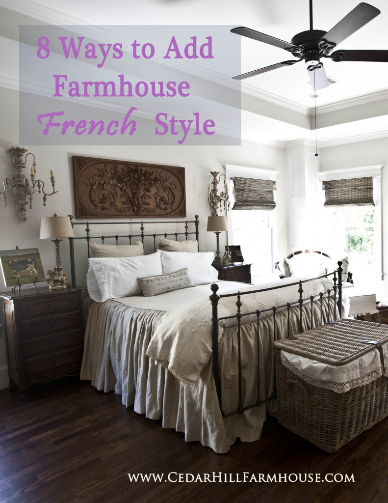 8 ways to add farmhouse French style