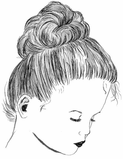 Girl-with-bun