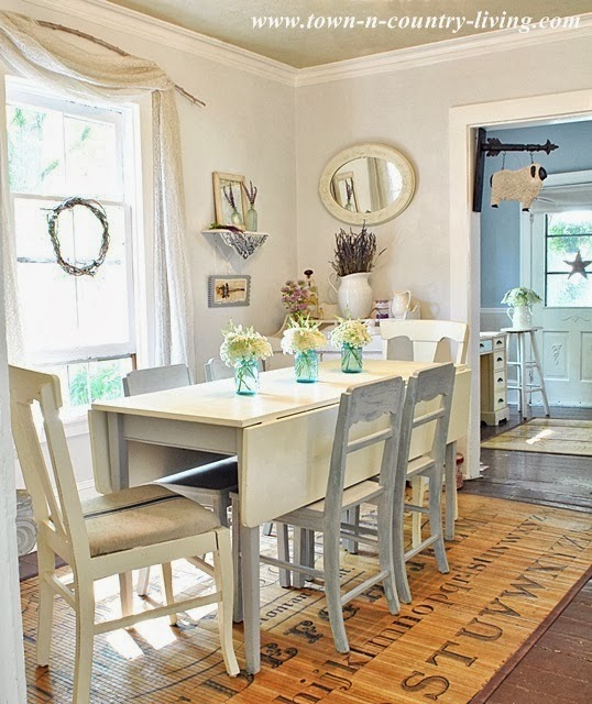 Town and Country Living Dining Room