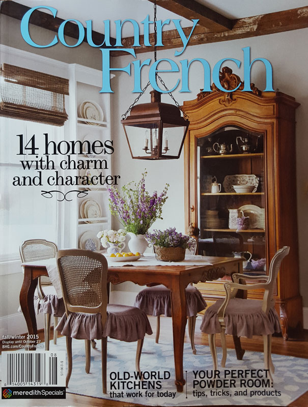 country french magazine back issues my home on the cover of country magazine cedar 12032