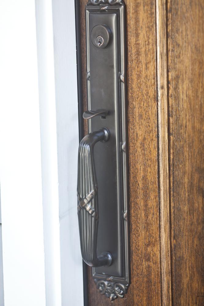 French door handle