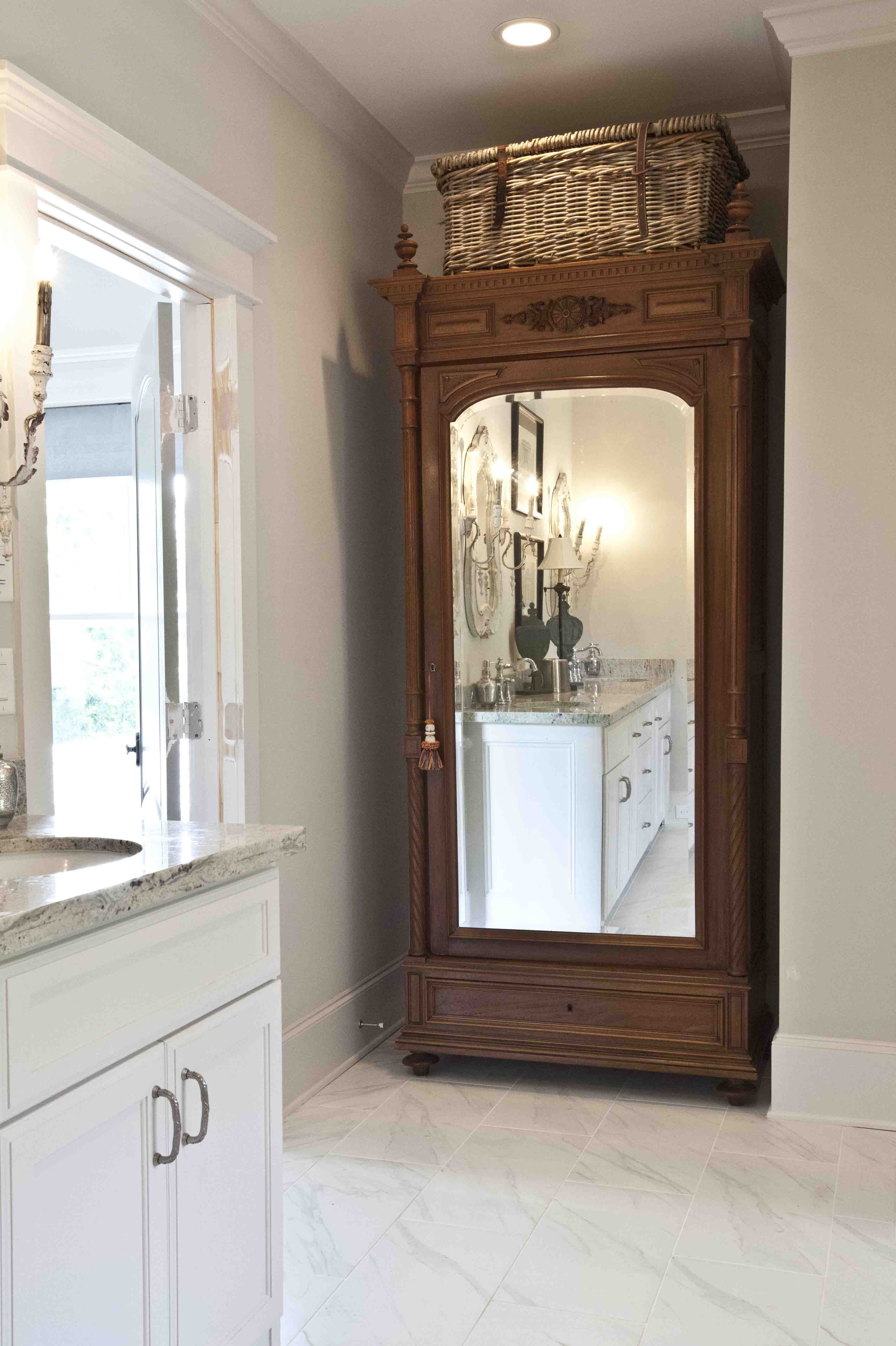 full length mirror cabinet