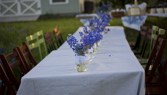 Wildflower Party Table