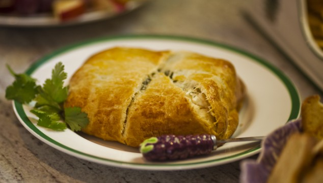 Super Easy Cheese Filled Pastry