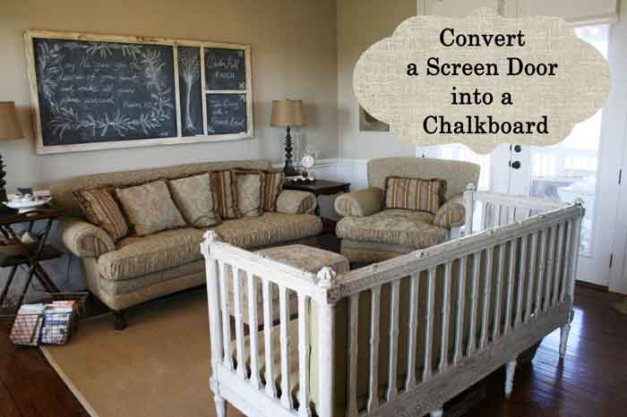 chalkboard-screen-door