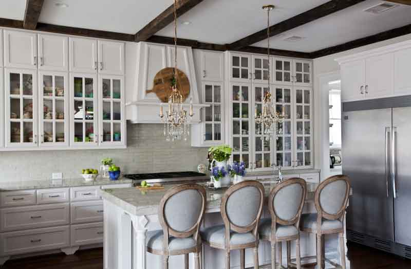 kitchen-with-green-flowers