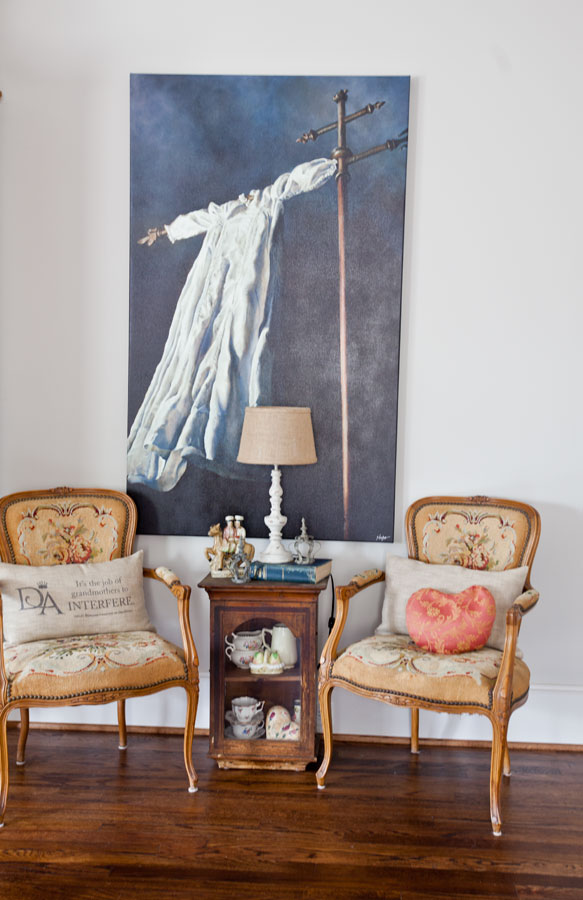 painting-and-french-chairs