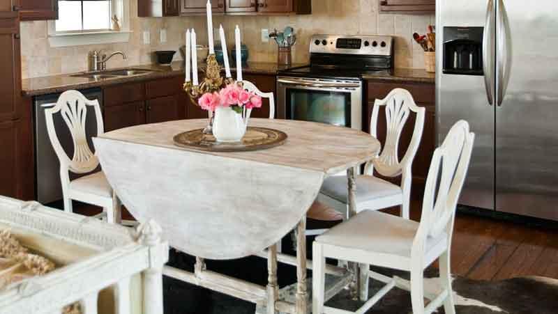 round-white-table