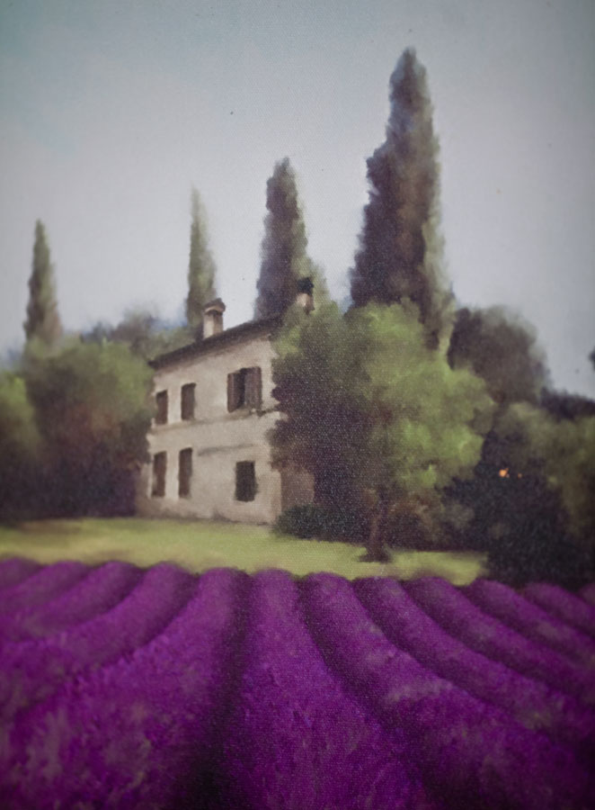 lavender-painting