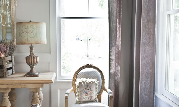 Linen Curtains for the Dining Room