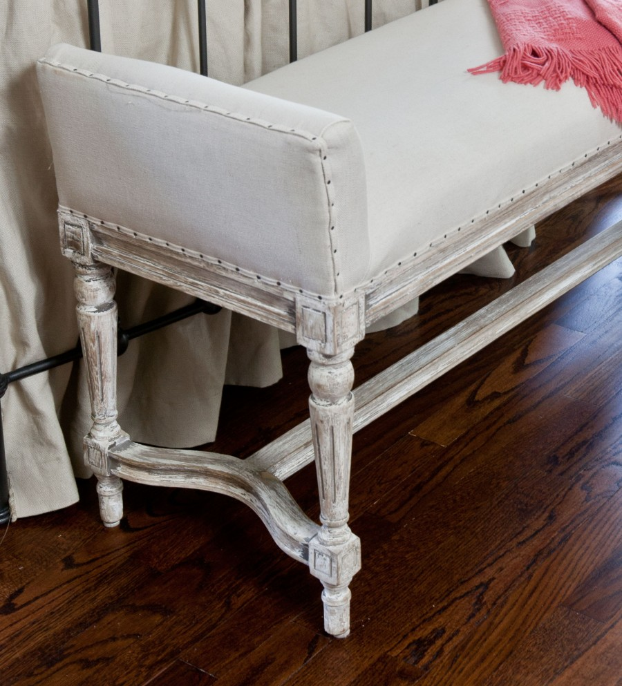 Very French Bench For The Bedroom Cedar Hill Farmhouse