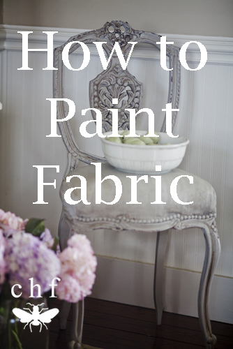 Painting fabric and a french chair cedar hill farmhouse for Painting with a twist cedar hill tx