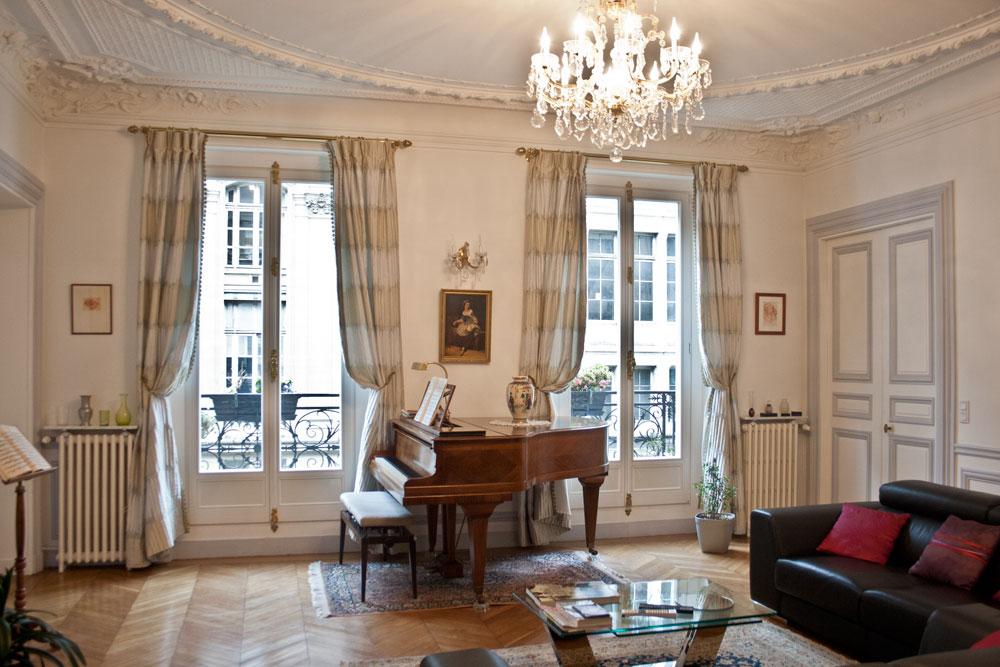 My Paris Apartment  Cedar Hill Farmhouse