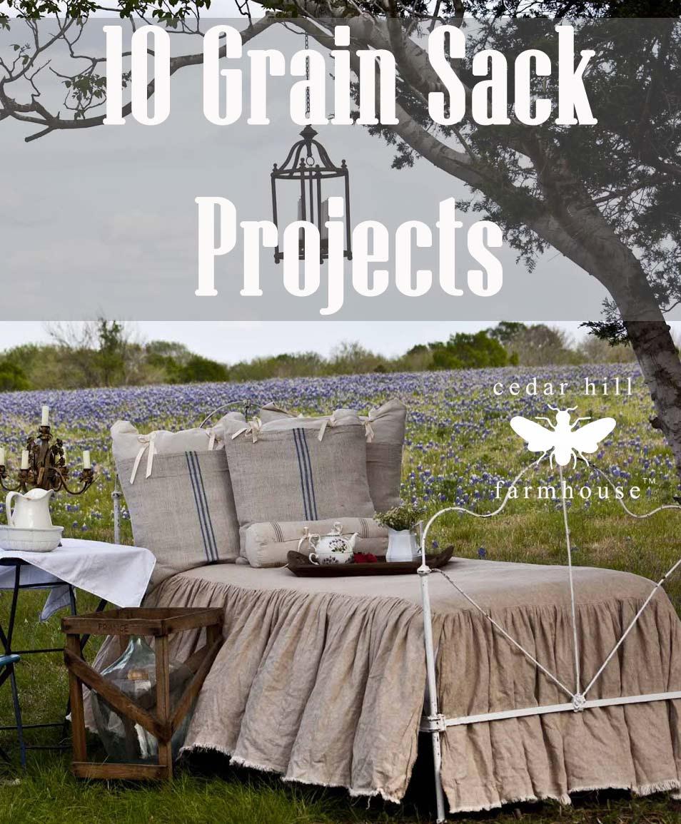 grain sacks used 10 ways