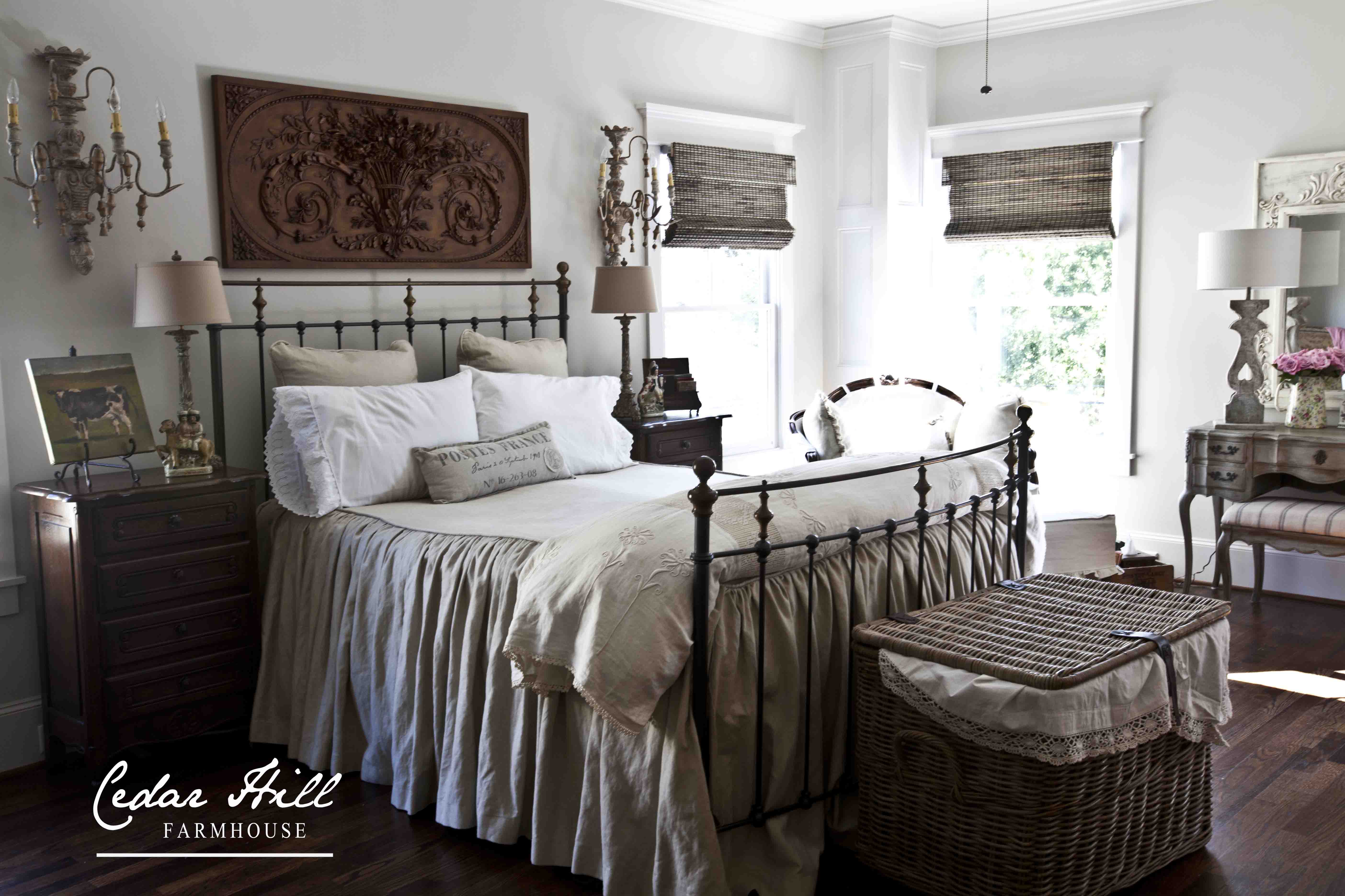 Top 21 photos ideas for farmhouse style bed home plans for French farmhouse bed