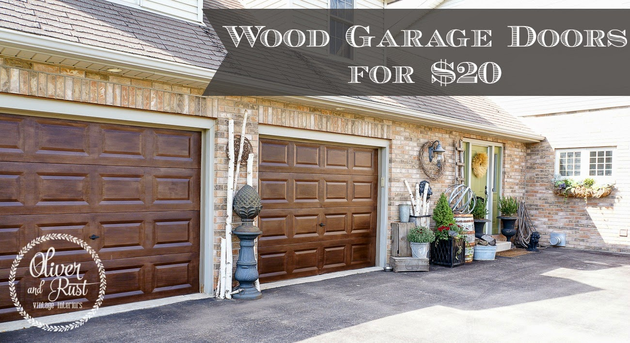 The scoop 138 cedar hill farmhouse for How to stain a wood garage door