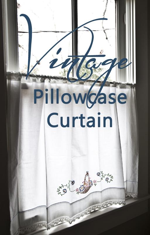 pillowcase curtain