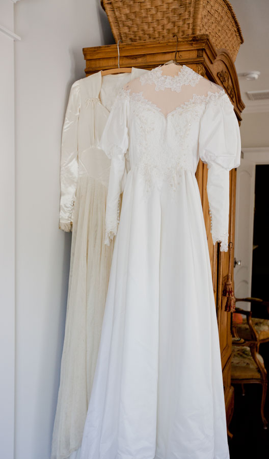 Display your Wedding Dress - Cedar Hill Farmhouse