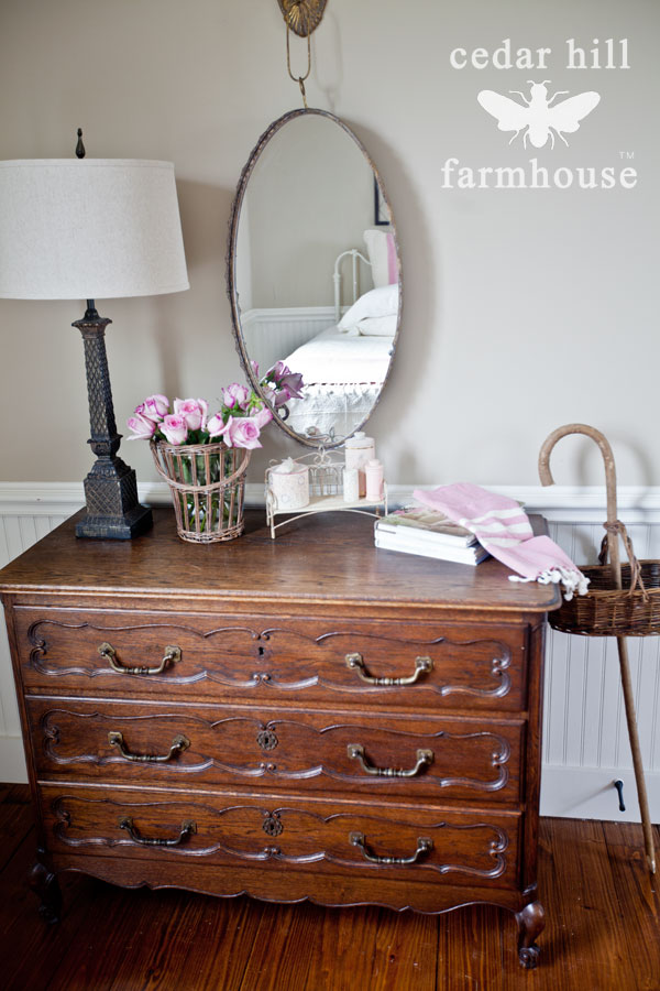 French-dresser-and-mirror
