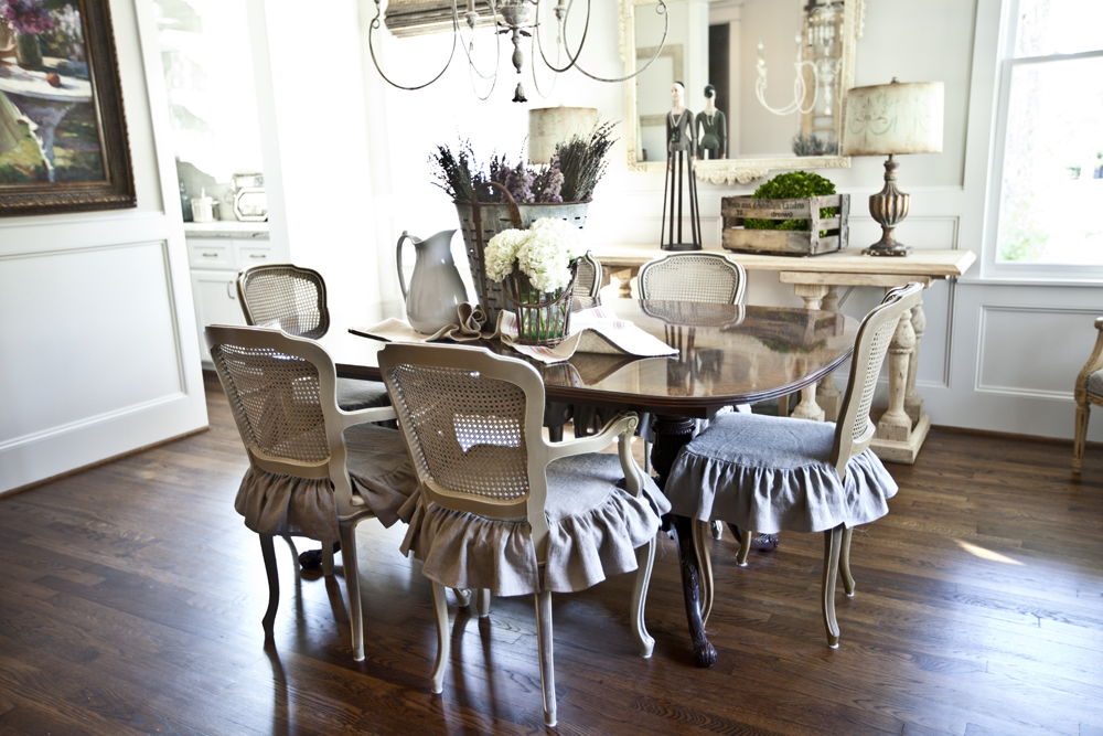 Final Reveal of Dining room - Cedar Hill Farmhouse