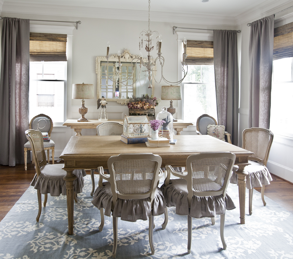 The french table cedar hill farmhouse for French dining room furniture