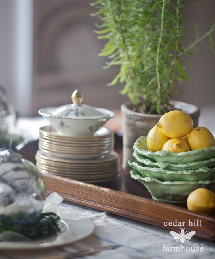 lemons-in-lettuce-plates