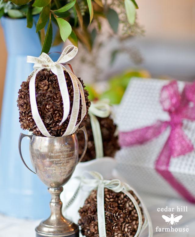 pine-cone-balls