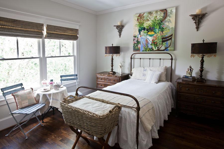Girl bedroom updates cedar hill farmhouse - Over bed art ideas ...