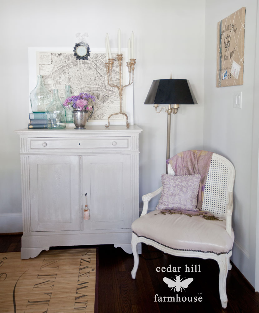 French-chair-and-chest