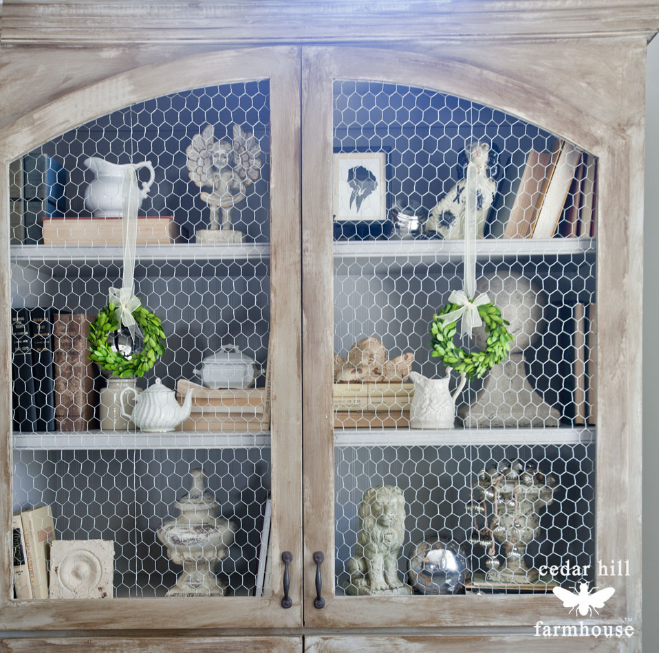chicken-wire-cabinet