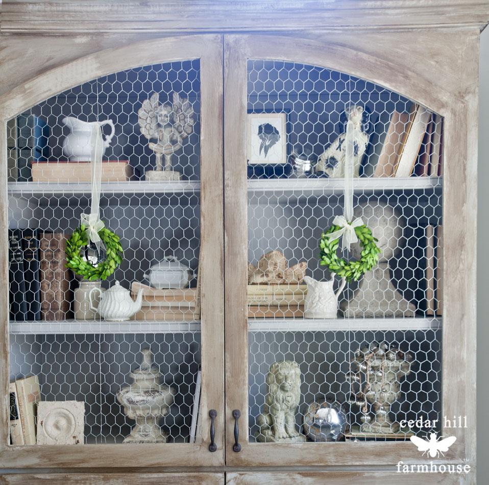 chicken-wire-cabinet