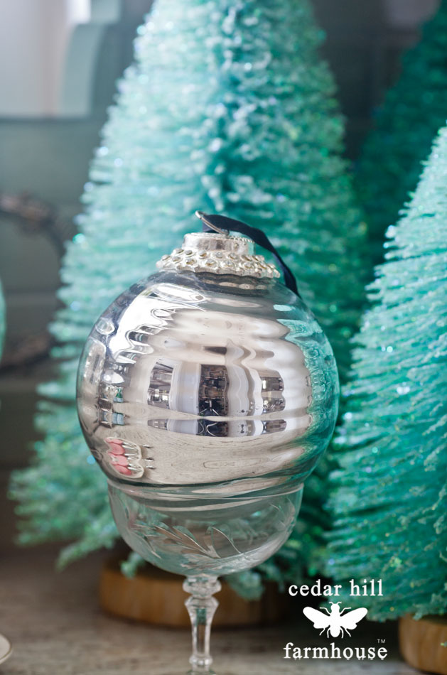 mercury-glass-Christmas-ornament