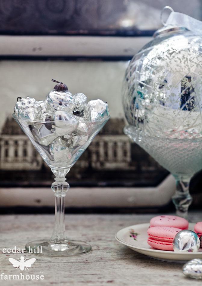 mercury-glass-Christmas-ornaments