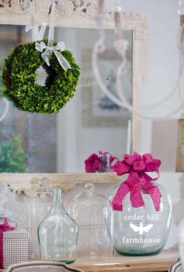 pink-Christmas-ribbon