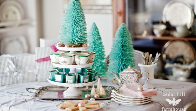 White Cake Plates  Decor Steals Ingenuity Challenge