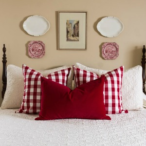 how to style a bed on sutton place