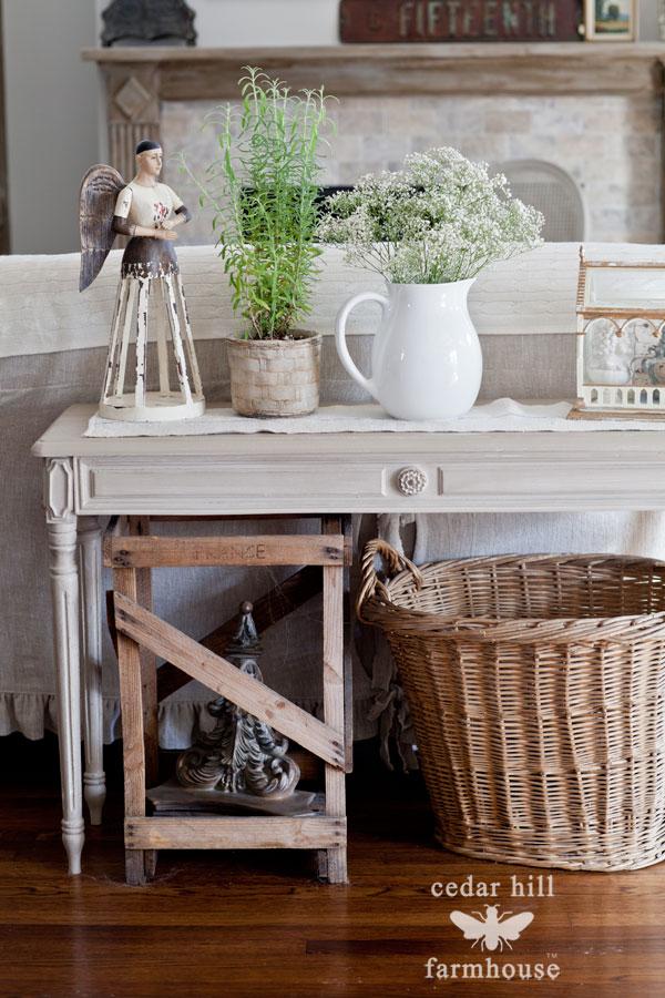 Swedish Gray Table