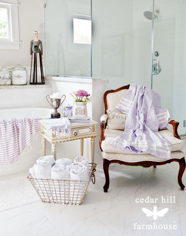 towels-and-french-chair