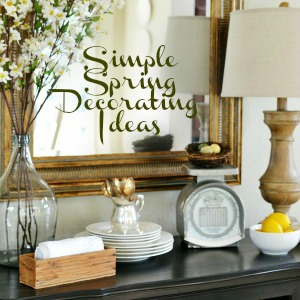 budget friendly spring decorating ideas atthepicketfence.com (1)
