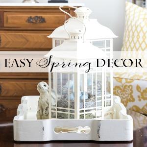 easy DIY easter spring decor ideas