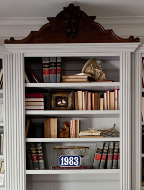 bookcase center
