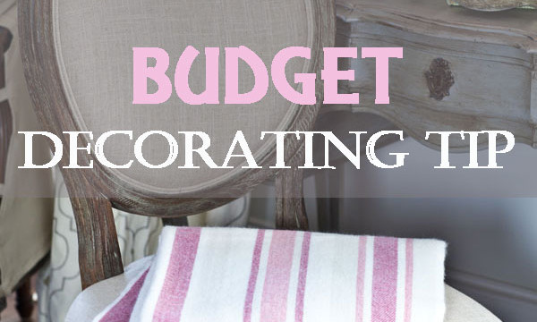 My NUMBER 1 Best Budget Decorating Tip