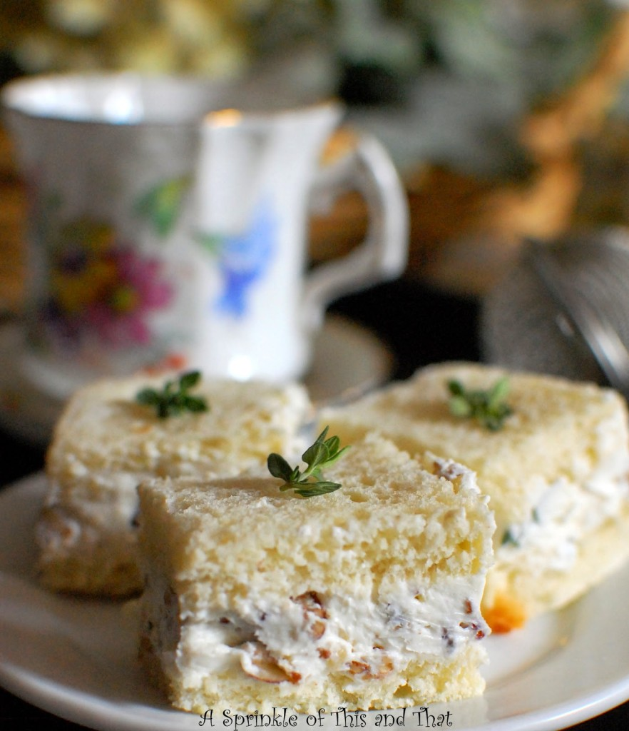 Goat Cheese and Pecan Tea Sandwiches-001
