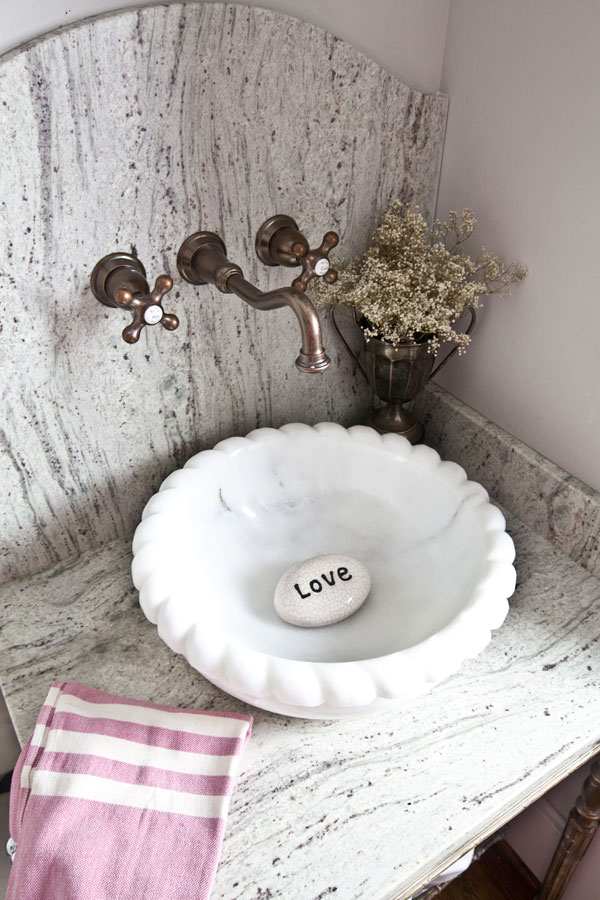 marble-sink-and-granite-counter-top