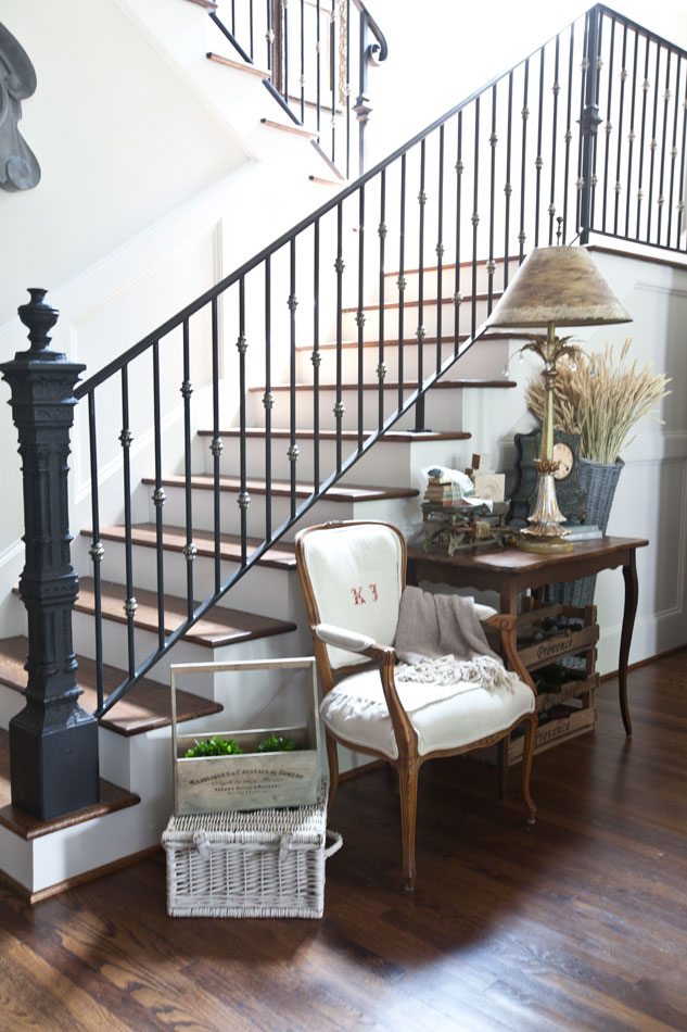 stairs-and-french-chair