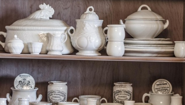 Ironstone, Marmalade Jars, and Mustard Pots
